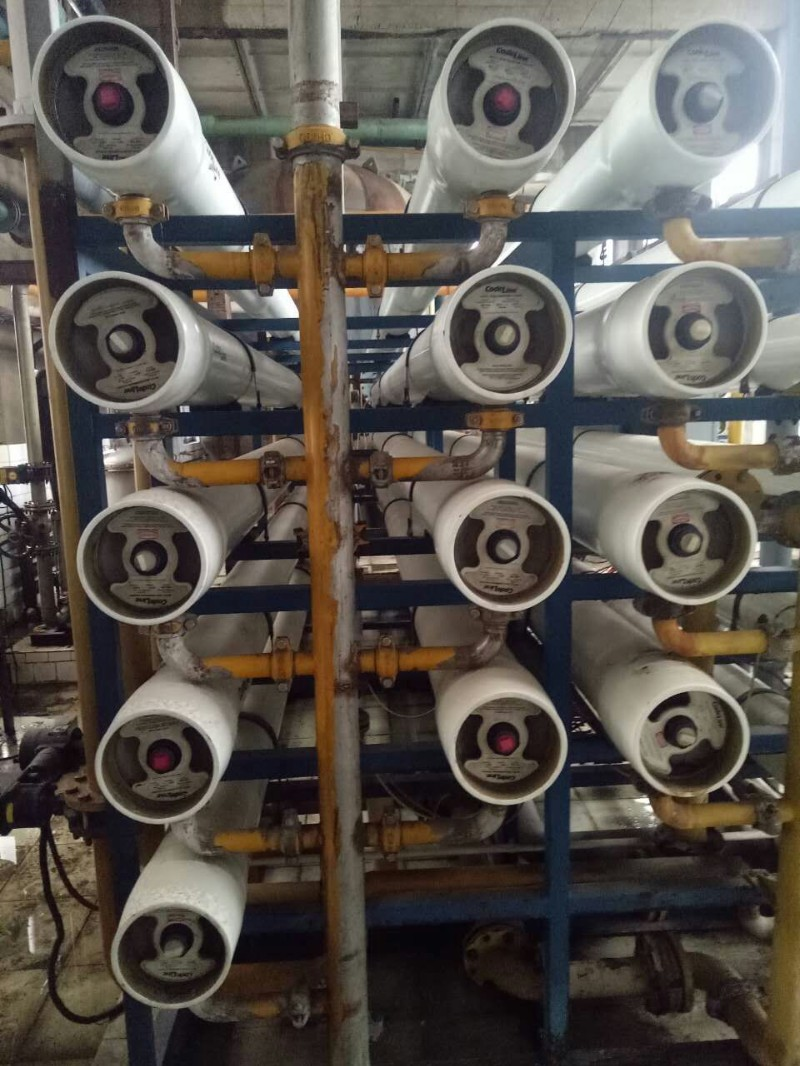 现货处理二手80吨双级反渗透水处理