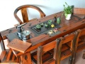 丽水市老船木家具茶桌茶台茶几沙发餐桌会议办公桌博古架罗汉床