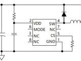 输入A摩托车灯IC高低亮功能IC