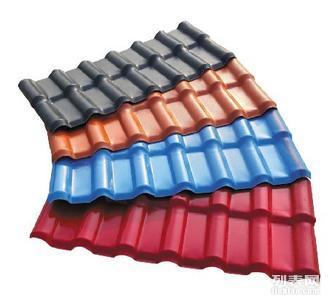 ASA合成树脂瓦琉璃瓦应用于平改坡别墅园林楼阁等