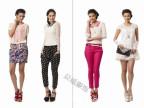 一线高端品牌Z11 上海品牌女装折扣艾琳娜 雪纺蕾丝修身连衣裙