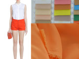 20d 加密复合丝 绒雪纺布料 丝巾面料 女装衬衫高档纯色时装面
