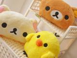 批发供应轻松熊 轻松小熊/手捂暖手 卡通抱枕靠垫 毛绒玩具暖手捂