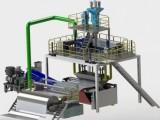 熔喷布所需挤出机械设备机组科技产品