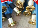 厂家直销大口径高压胶管 高压橡胶软管 4寸法兰连接