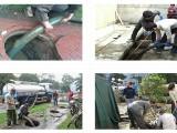 常州专业管道疏通下水道疏通清理化粪池隔油池抽粪公司