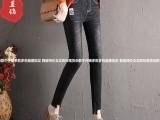 新款尾货牛仔裤南京最便宜潮流品牌尾货牛仔裤五元牛仔裤厂家直销