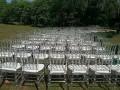 婚庆竹节椅出租白色金色银色木色竹节椅出租透明竹节椅