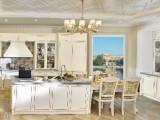 百能不锈钢橱柜定做简约厨房厨柜装修整体橱柜不锈钢台面厨柜定制