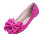 2014新款甜美春鞋单鞋平底鞋韩版平跟鞋磨砂少女鞋时尚复古鞋子