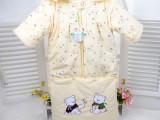 热销214冬季新款童装婴儿服批发宝宝加厚加长睡袋贝婴希1018