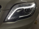 聊城指北針汽車大燈改裝升級雙光透鏡氙氣燈