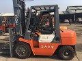 二手内燃式叉车 3吨杭州叉车/杭州叉车升高4米市场价格