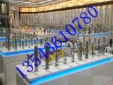 卫浴展览展示柜定制企业展厅展架卫浴洗漱用具展示柜定制厂家