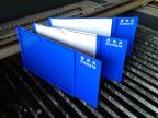 厂家直销 A4蓝色亚克力盒专业 定做优质A4蓝色亚克力盒