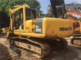 咸阳二手挖掘机小松200-8原装出售沃尔沃二手挖掘机