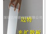 本厂挤压生产单面磨砂亚克力扩散板 | 光扩散板 | led扩散板