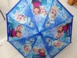 外贸热销现货frozen umbrella 儿童卡通创意雨伞