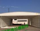 浙江省杭州市推拉蓬膜结构车棚活动雨蓬