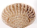 豪华水晶灯吸顶灯欧式客厅灯以诺恩典灯饰