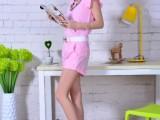 欧洲站2014新款夏季休闲套装女时尚套装短袖短裤名媛小香风