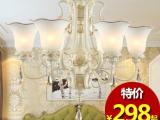 迪都欧式树脂客厅吊灯浪漫卧室灯简约餐厅灯树脂吊灯具灯饰
