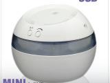 创意礼品USB家用加湿器香薰机 可调雾超静音迷你加湿器净化器