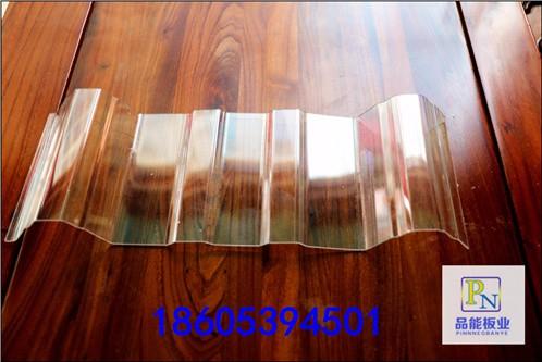 烟台莱山区厂家直销透明屋面顶棚装修采光隔断840型透明采光瓦
