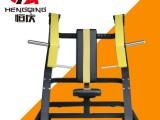 鞍山市商用健身房俱乐部力量器械大黄蜂系列坐式上斜推胸训练器材