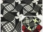 色织提花服装布 高品质欧美原单面料 时尚提花西装风衣外套面料