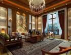 金阳中航城398平美式东南亚混搭风格最新别墅装修案例效果图
