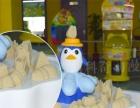 热卖企鹅沙桌摊位游艺机 玻璃钢太空沙桌DIY模型玩具