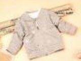 2014春季新款童装批发 韩版男童女童宝宝星星奥戴尔夹克外套