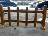 供应西藏白色绿色木纹色绿化30高塑钢栏杆护栏