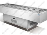 雅绅宝三文治工作台火锅冷柜烧烤冷藏柜自助餐刺身菜品展示柜