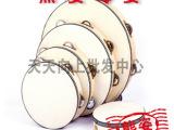 低价批发!奥尔夫乐器儿童音乐启蒙玩具本色铃鼓音乐早教玩具A1-6