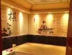 大型浴场蒙古包汗蒸房+米黄玉汗蒸房