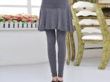 春季新款韩版时尚孕妇裙 纯色品牌大码纯棉