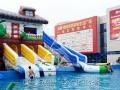 黄山地区支架水池泳池 2016新款专供 水上乐园水上滑梯 冲关