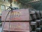 二手铸铁大砝码,规格每只1吨,适用于行车、叉车搬运