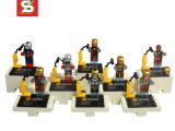 乐高式超级英雄复仇者联盟玩具人仔钢铁侠系列手办 sy185