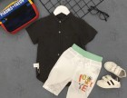 1001夜夏装清货低价一个漆黑色出品牌折扣童装批发