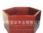 长期大量供应各种高档装饰木花盆
