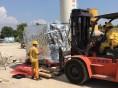 杭州精密设备搬入,光刻机气垫搬入 ,杭州设备搬迁