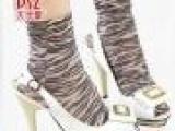 厂家直销 春秋款复古印花短丝袜 天鹅绒 女丝袜 短袜子 A1-4