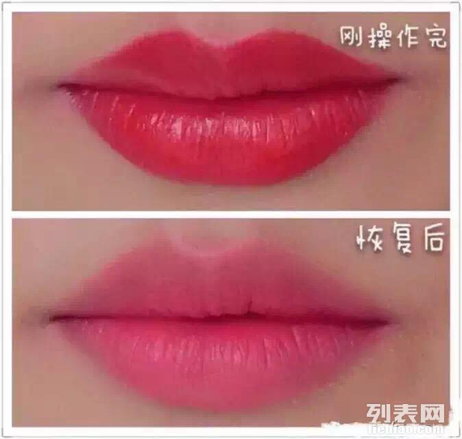 纹发际线多少钱韩式半永久漂唇丝雾眉美瞳线纹眼线洗纹身图片
