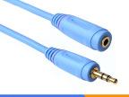 批发 3.5mm 耳机延长线 音频延长线 公对母 电脑加长耳机线0.5米