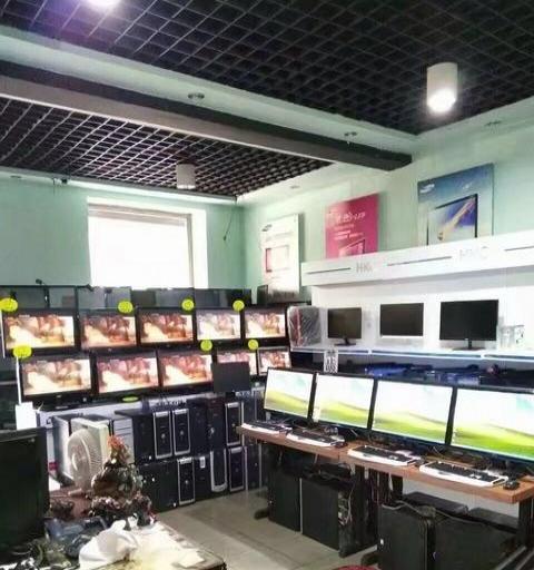 出售大量二手电脑、高配、网吧四核
