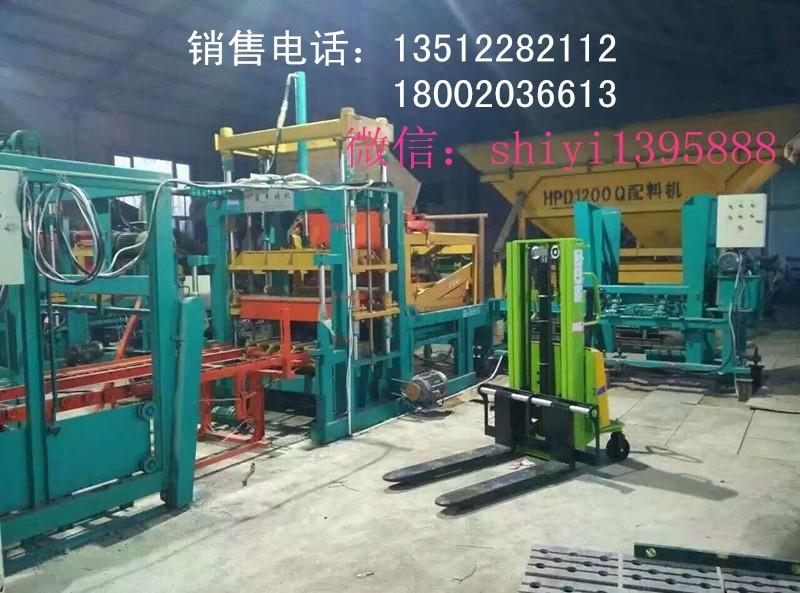 全自动水泥彩砖机 全自动水泥空心砖机天津附近厂家