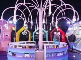 现货烟泡树烟雾树商场街道大型网红互动亮化美陈道具租售